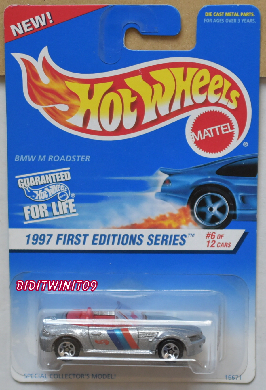 HOT WHEELS 1997 FIRST EDITIONS #518 BMW M ROADSTER