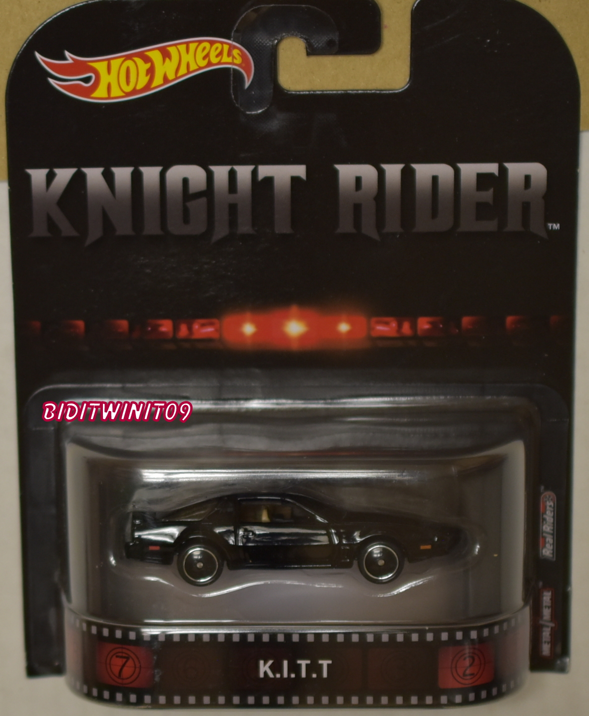 HOT WHEELS RETRO ENTERTAINMENT KNIGHT RIDER K.I.T.T