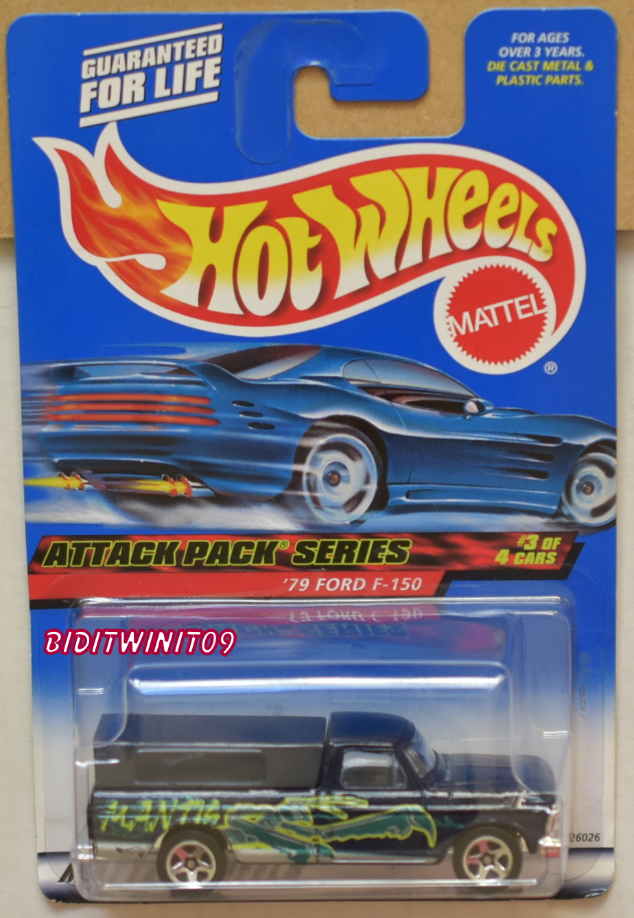 HOT WHEELS 2000 ATTACK PACK SERIES '79 FORD F-150 #023