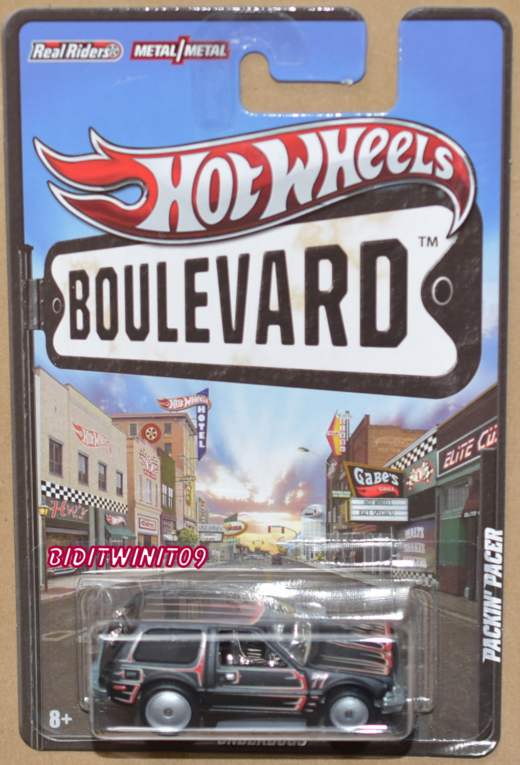HOT WHEELS BOULEVARD UNDERDOGS - PACKIN' PACER