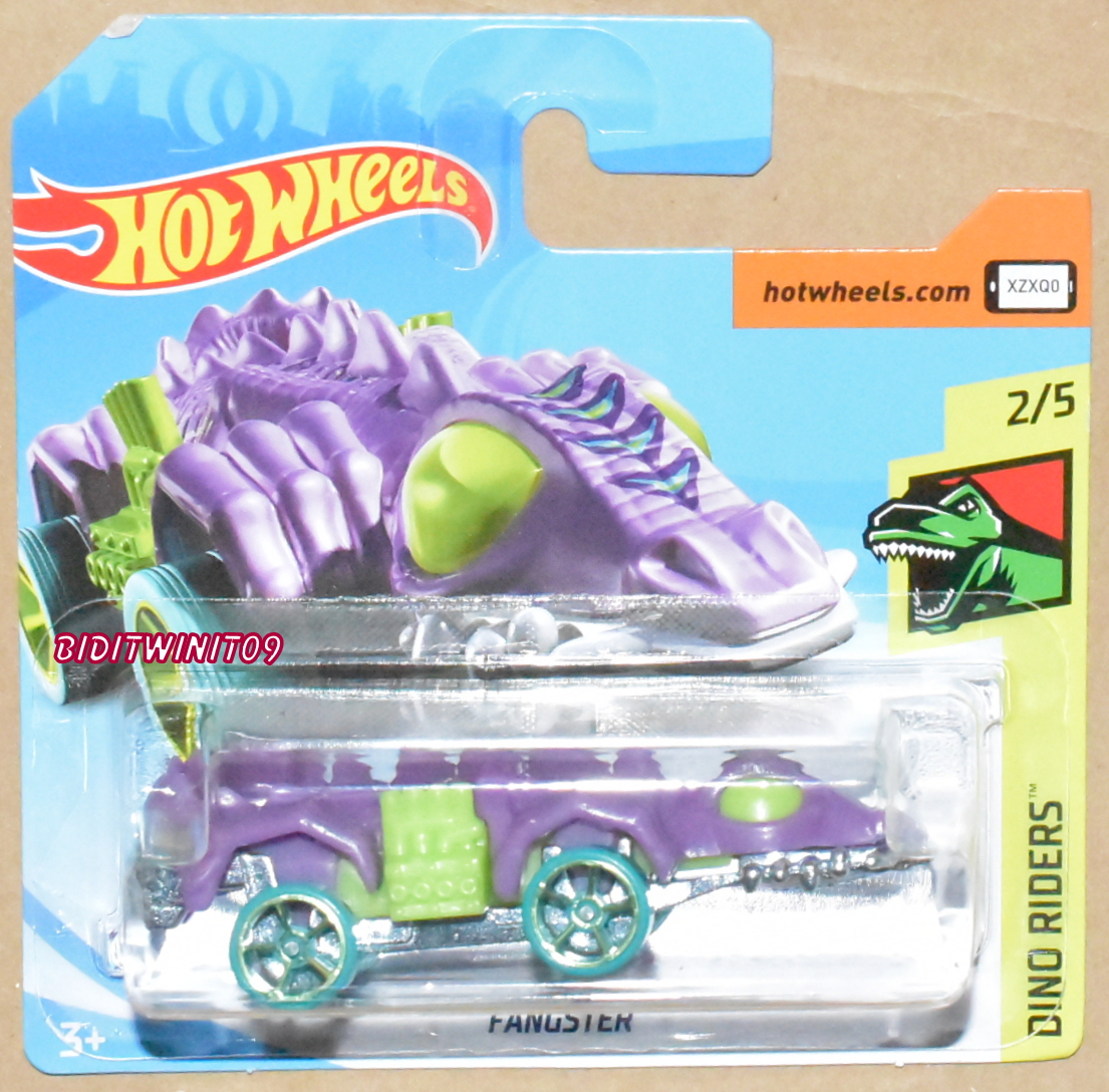HOT WHEELS 2019 DINO RIDERS FANGSTER CASE A SHORT CARD
