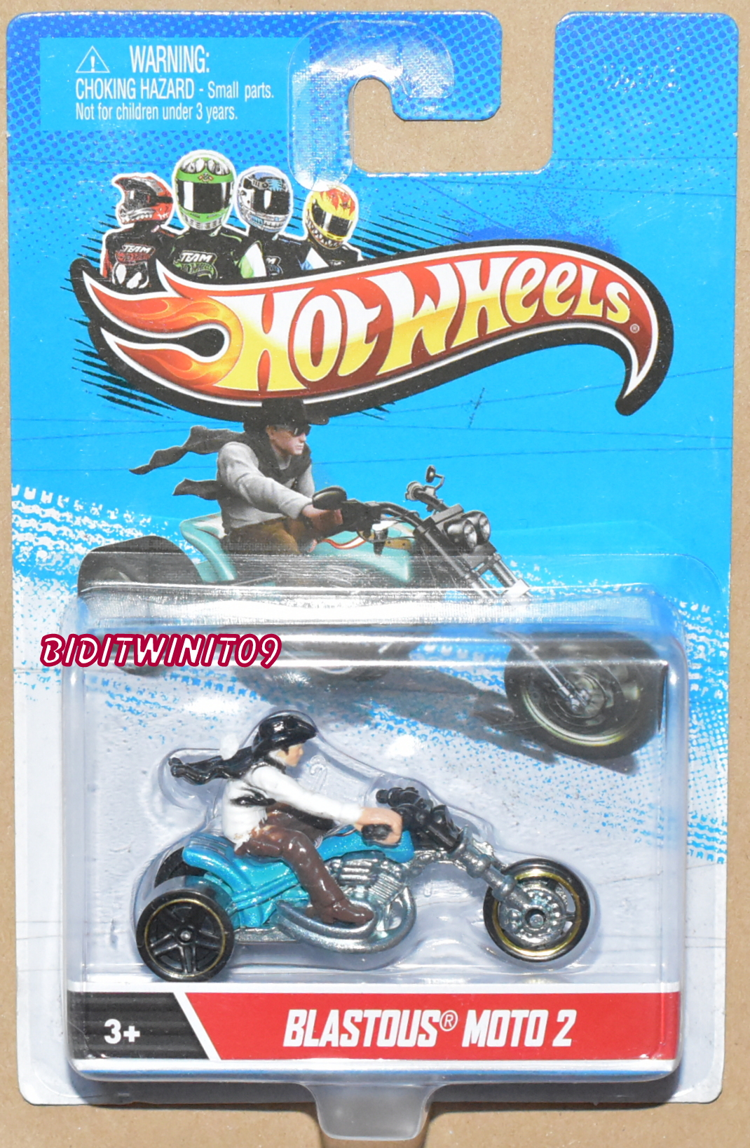 HOT WHEELS BLASTOUS MOTO 2
