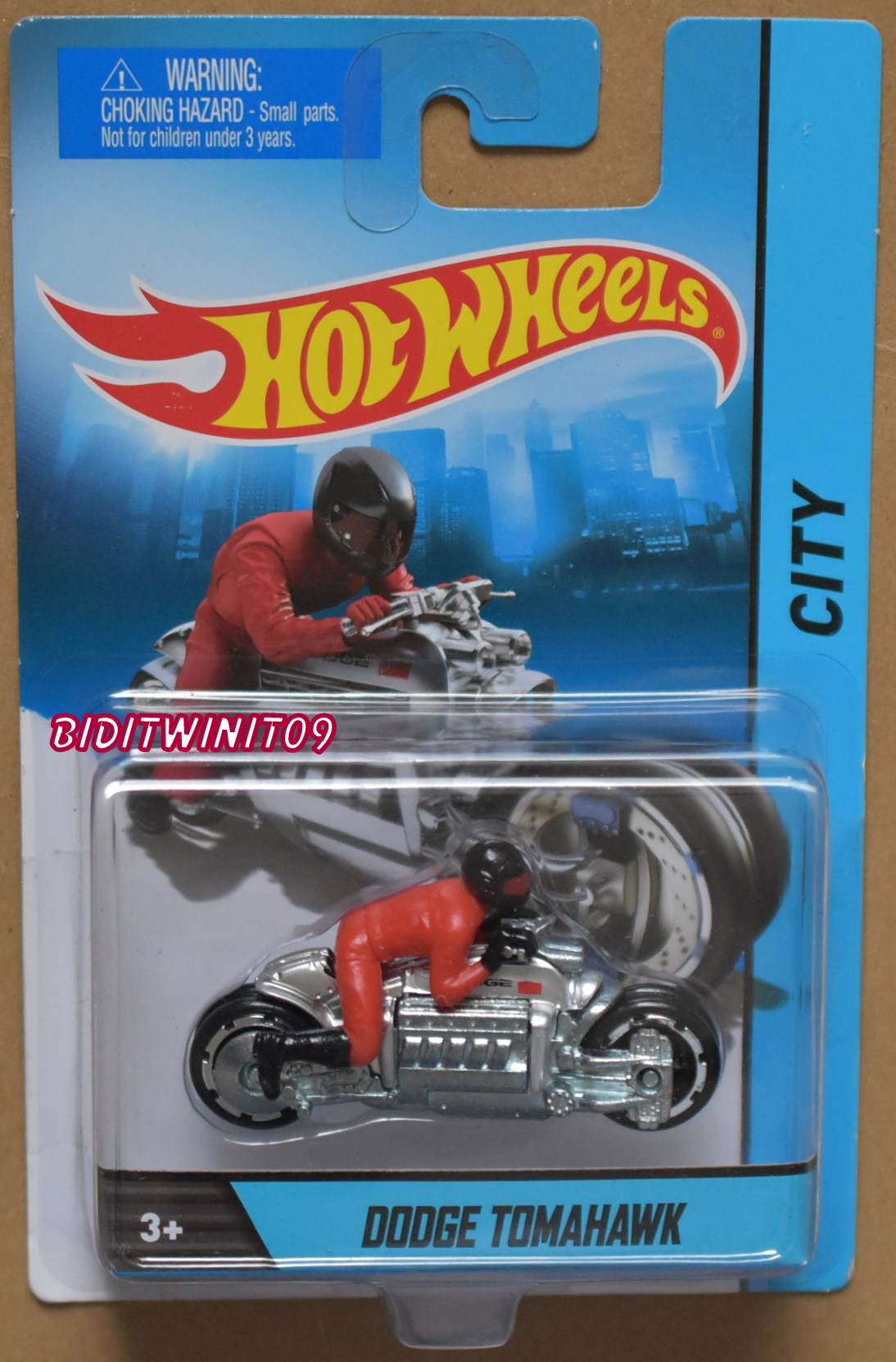 HOT WHEELS CITY DODGE TOMAHAWK