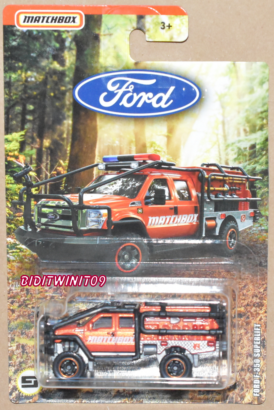 MATCHBOX 2018 FORD F-350 SUPERLIFT