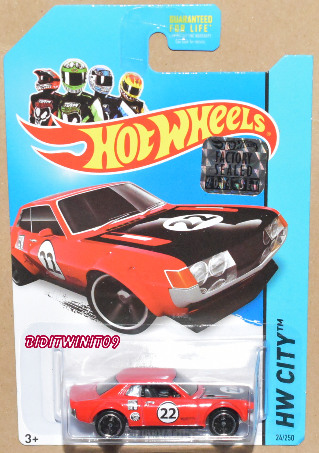 HOT WHEELS 2014 HW CITY '70 TOYOTA CELICA FACTORY SEALED RED