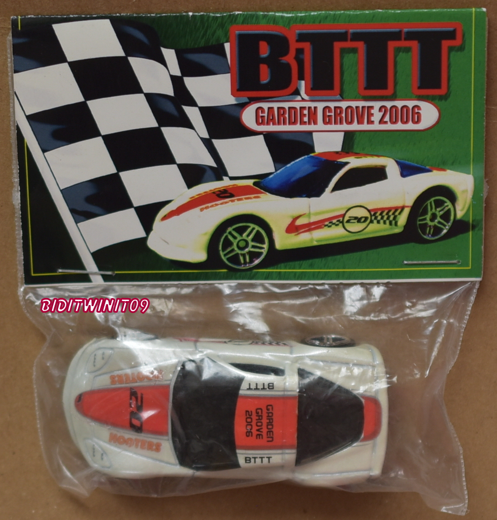 HOT WHEELS BTTT GARDEN GROVE 2006 C6 CORVETTE E+