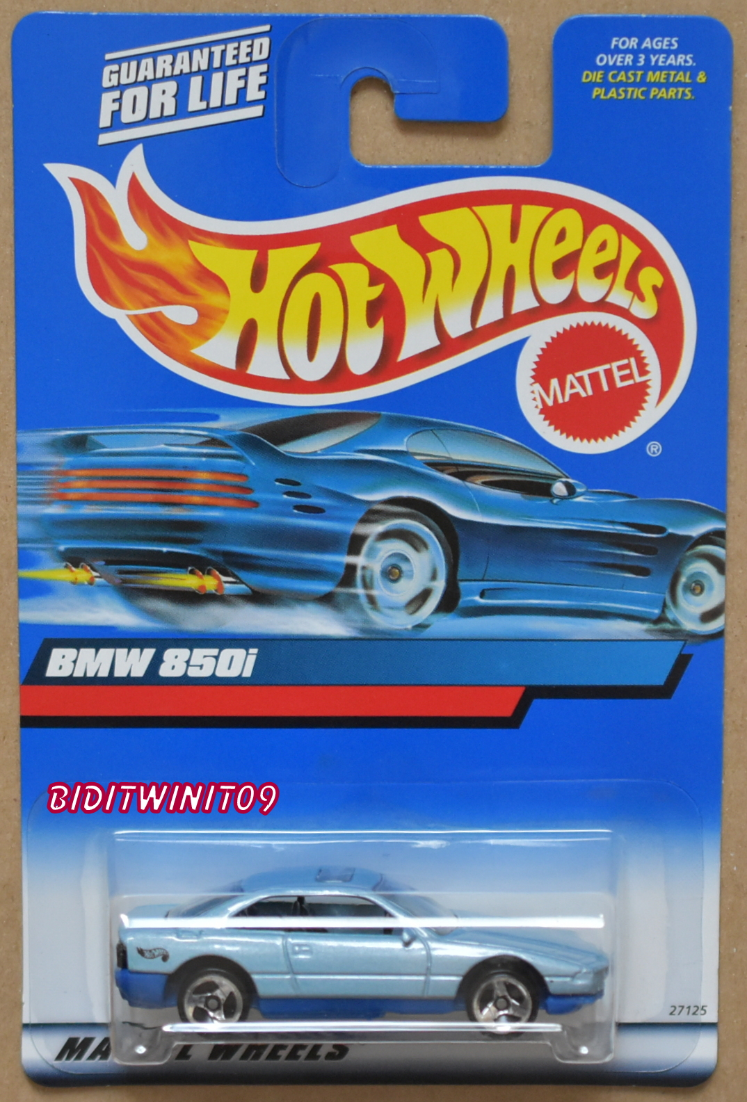 HOT WHEELS 2000 BMW 850I