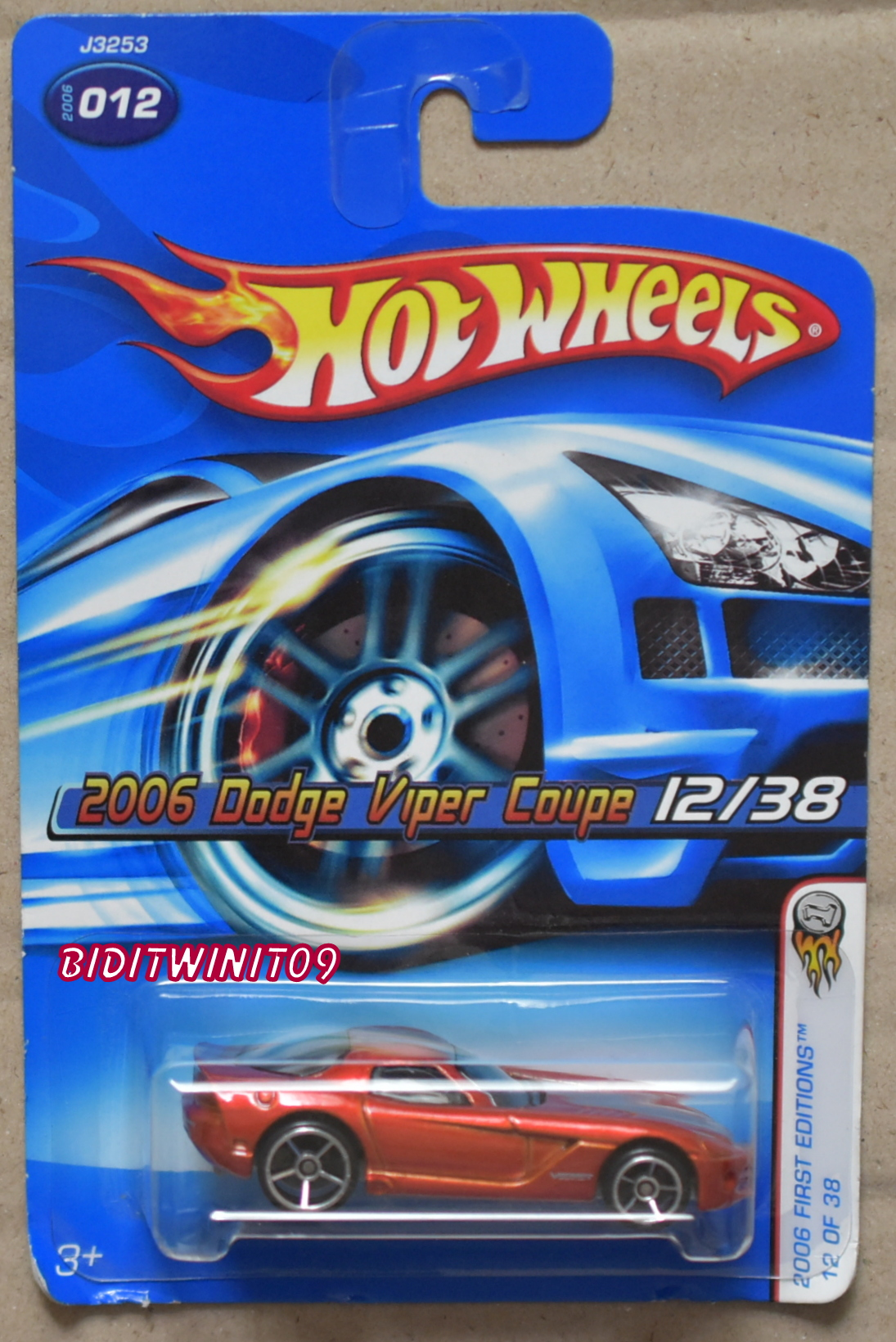 HOT WHEELS 2006 FIRST EDITIONS DODGE VIPER COUPE #012