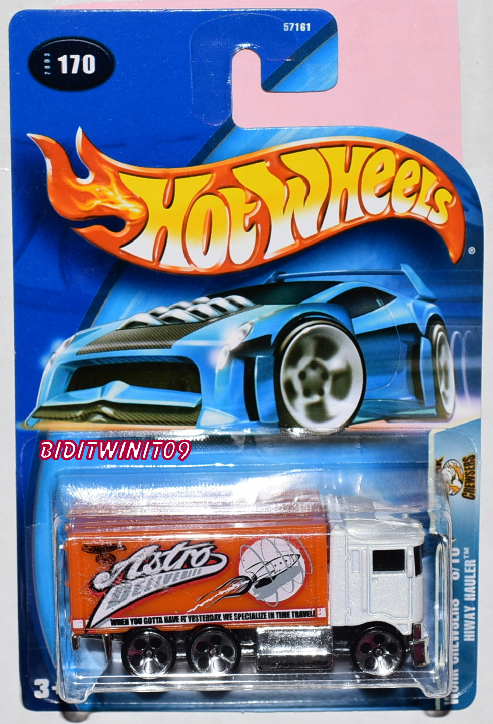 HOT WHEELS 2003 WORK CREWSERS HIWAY HAULER #170
