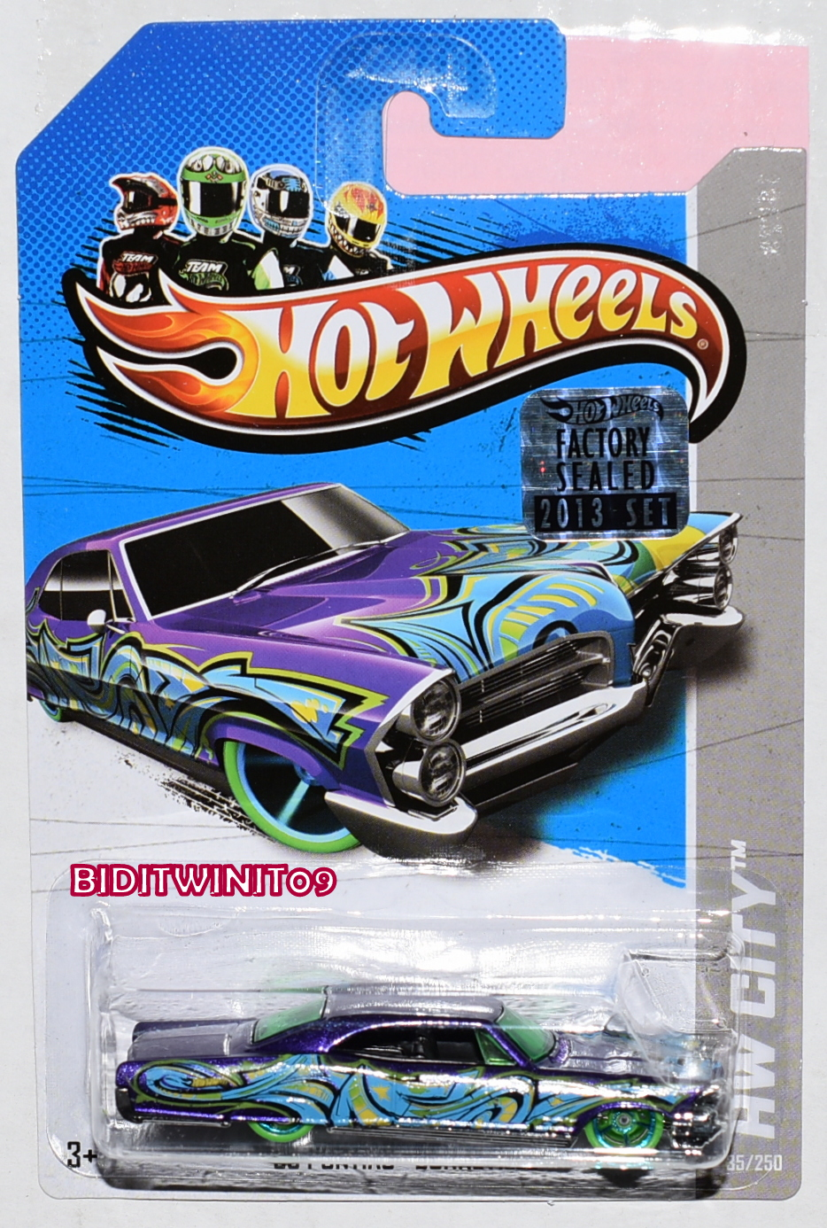 HOT WHEELS 2013 HW CITY '65 PONTIAC BONNEVILLE FACTORY SEALED