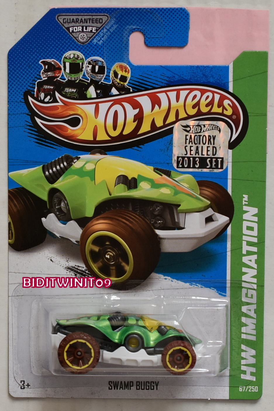 HOT WHEELS 2013 HW IMAGINATION SWAMP BUGGY GREEN FACTORY SEALED