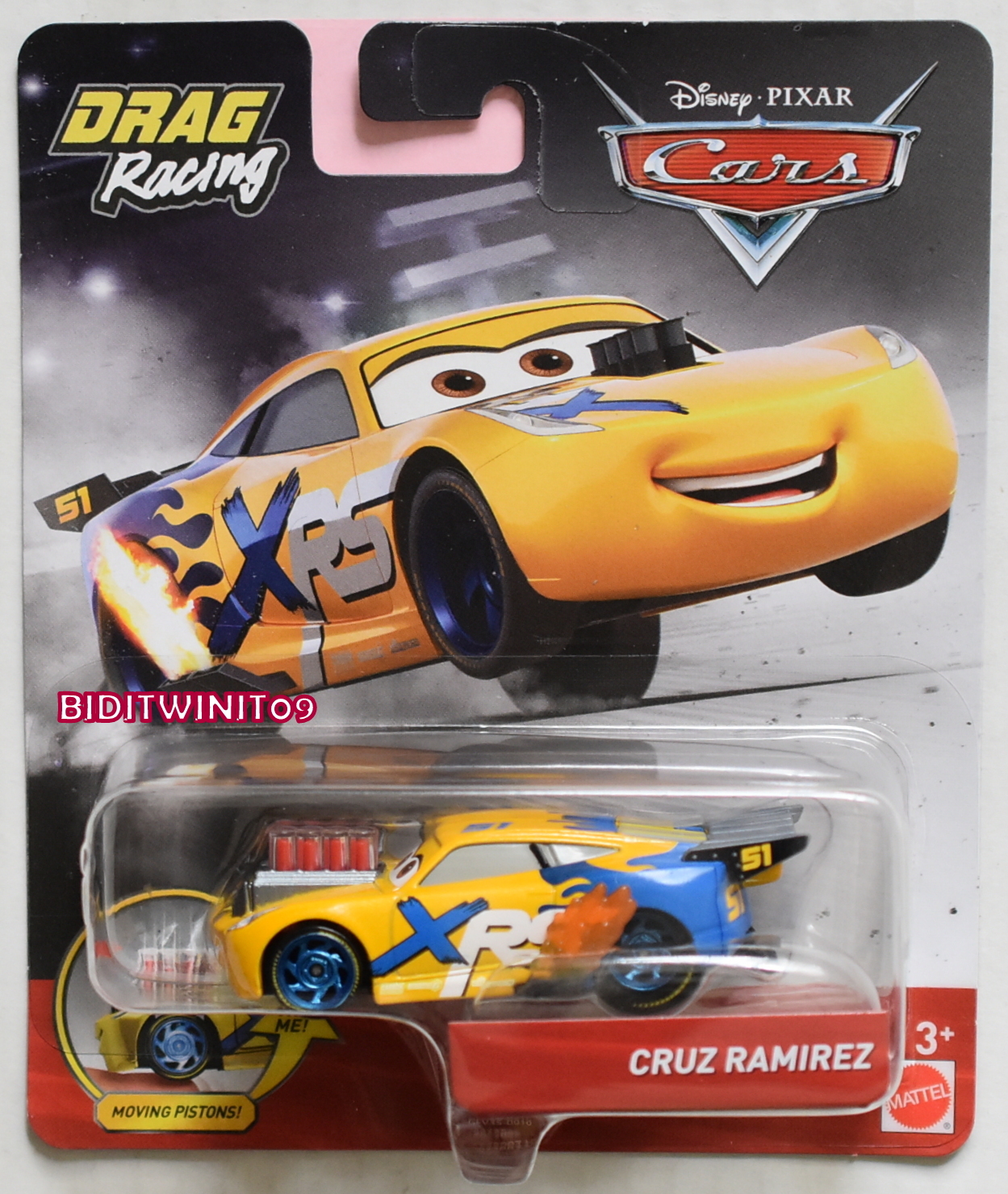Disney Pixar Cars Drag Racing Cruz Ramirez Xrs 0018567 8 36
