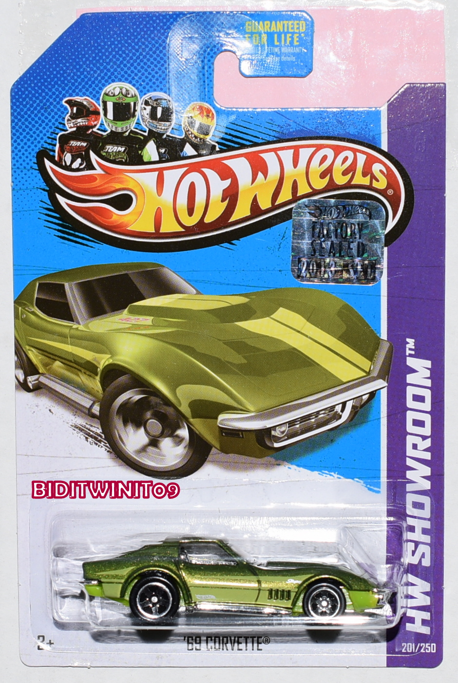 HOT WHEELS 2013 HW SHOWROOM '69 CORVETTE FACTORY SEALED