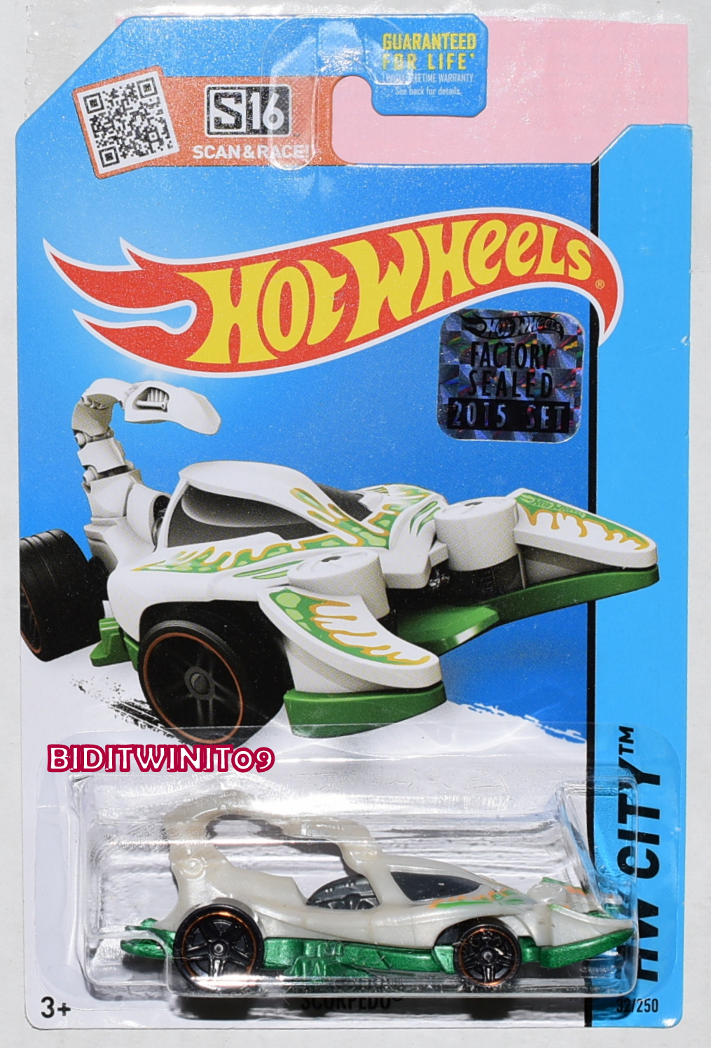 HOT WHEELS 2015 HW CITY SCORPEDO FACTORY SEALED