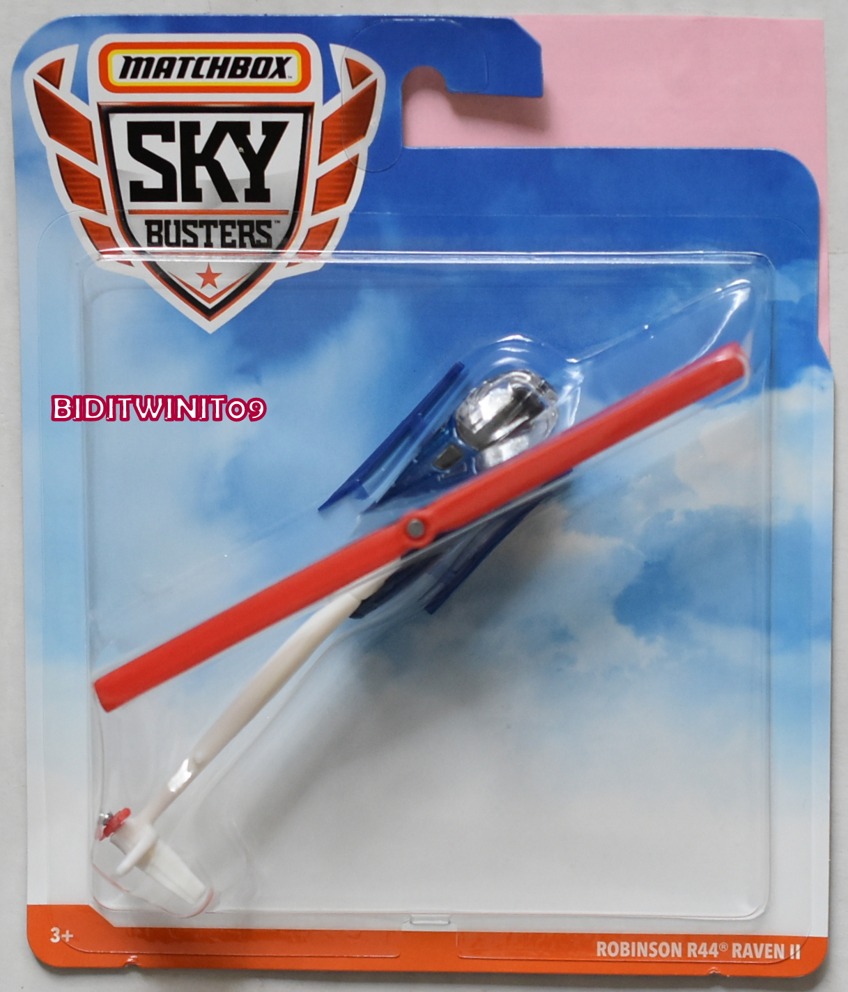 MATCHBOX SKY BUSTERS ROBINSON R44 RAVEN II