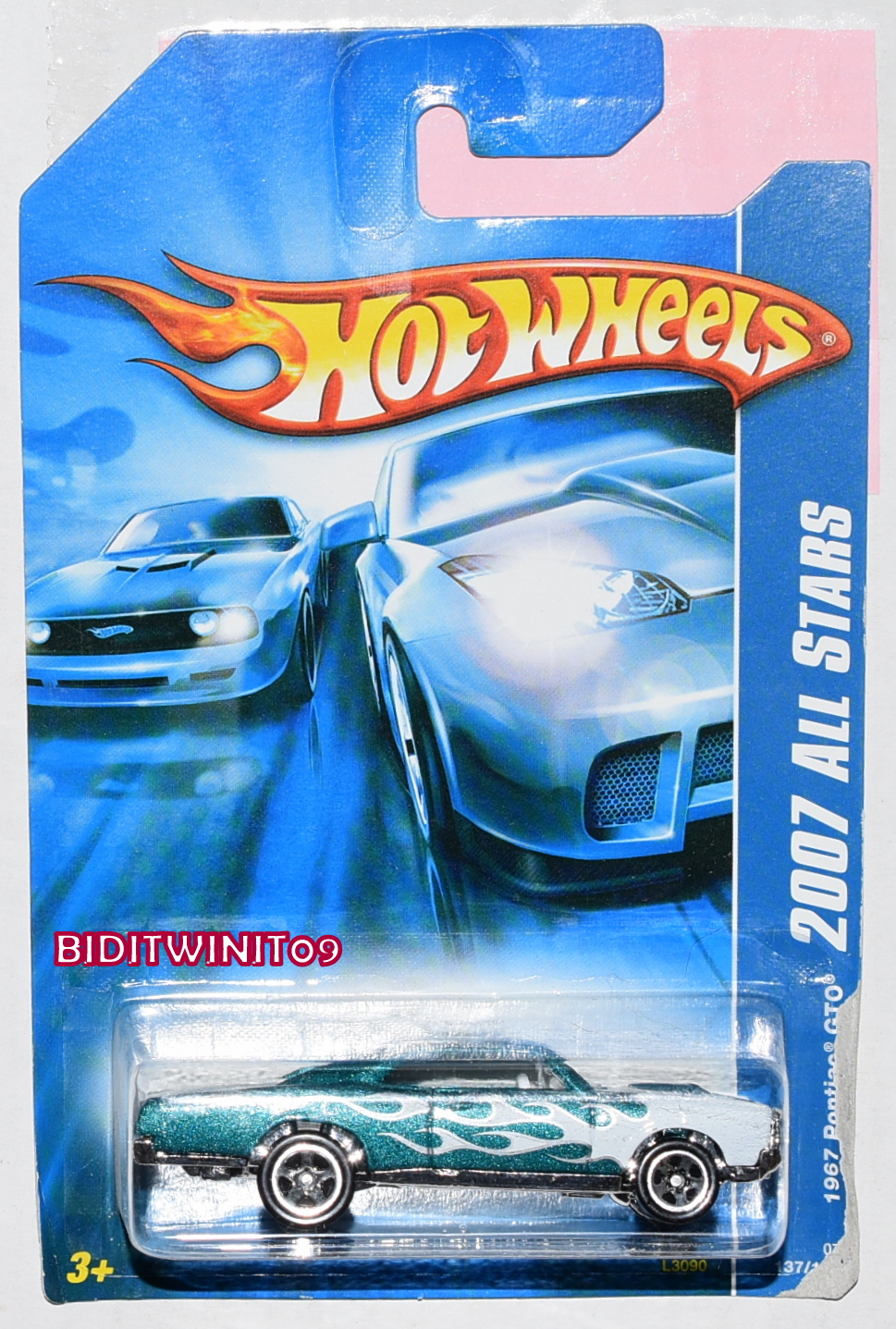 HOT WHEELS 2007 ALL STARS 1967 PONTIAC GTO GREEN