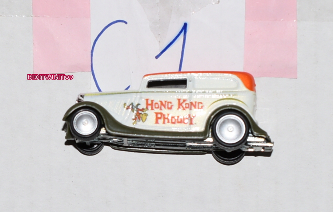 HOT WHEELS POP CULTURE HONG KONG PHODEY '34 FORD SEDAN DELIVERY LOOSE E+