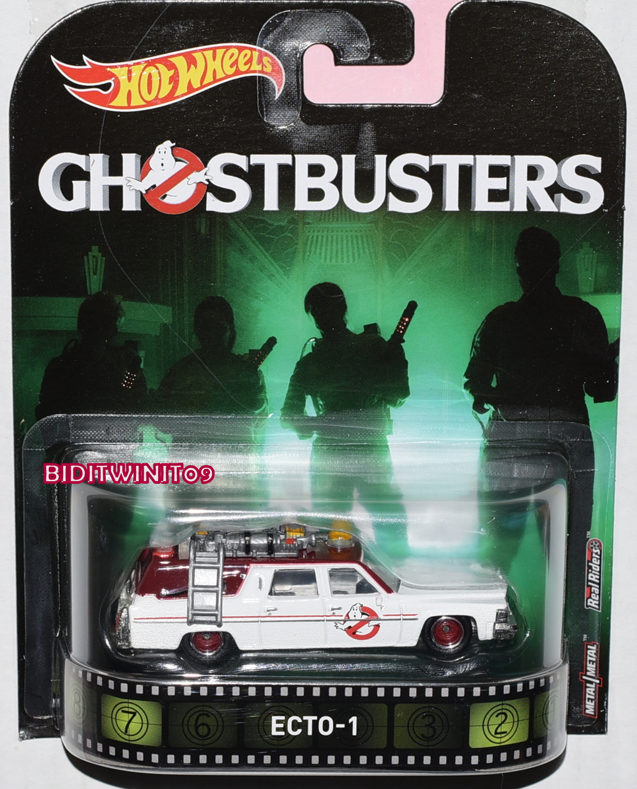 HOT WHEELS RETRO ENTERTAINMENT GHOSTBUSTERS ECTO-1 COMBINE SHIPPING