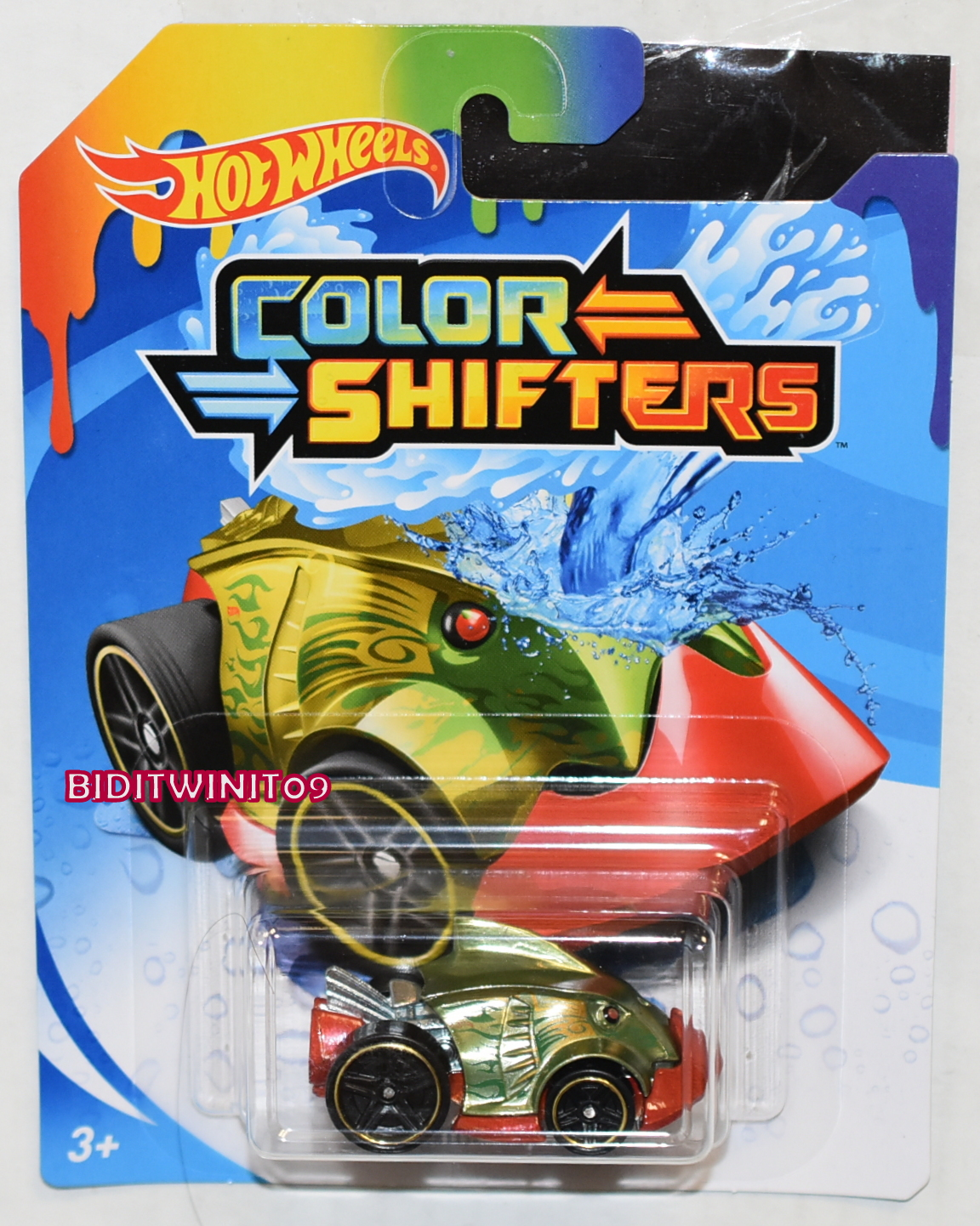 HOT WHEELS 2020 COLOR SHIFTERS PIRANHA TERROR E+