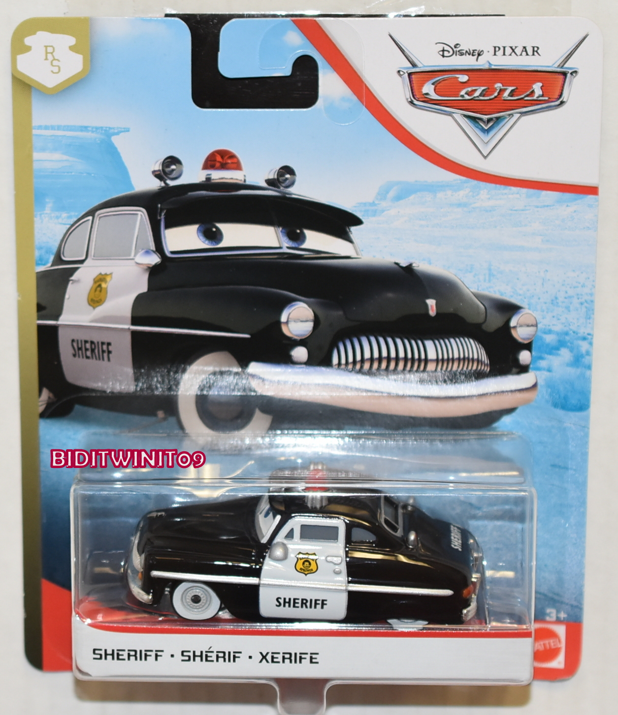 DISNEY PIXAR CARS 2020 SHERIFF E+