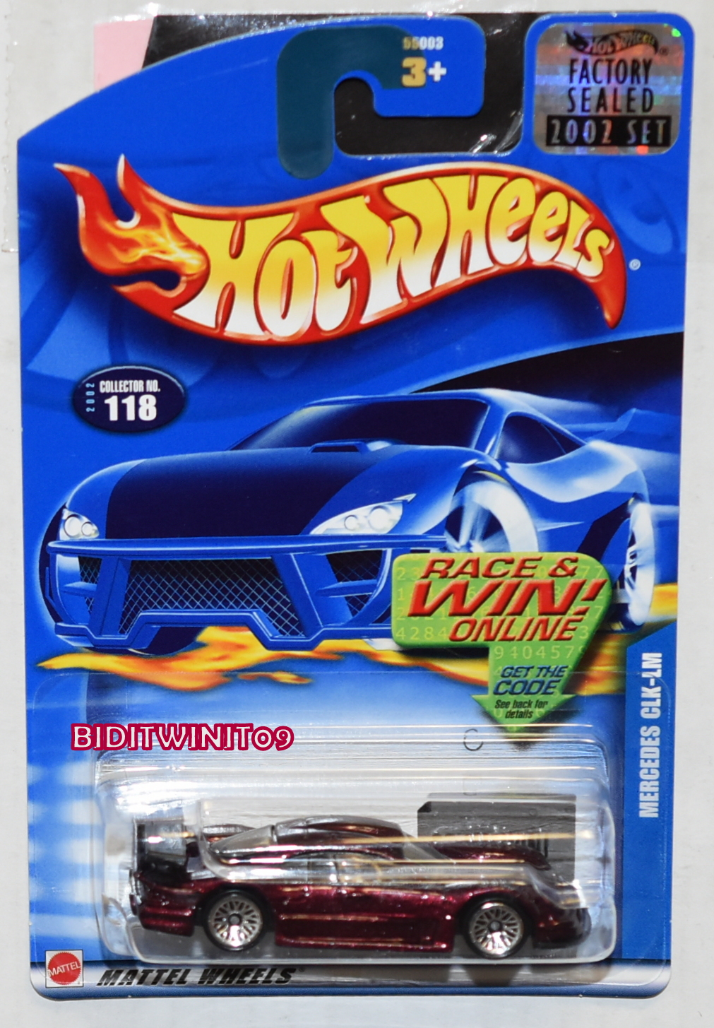 Hot Wheels Brand New and Sealed 2002 Nomadder What