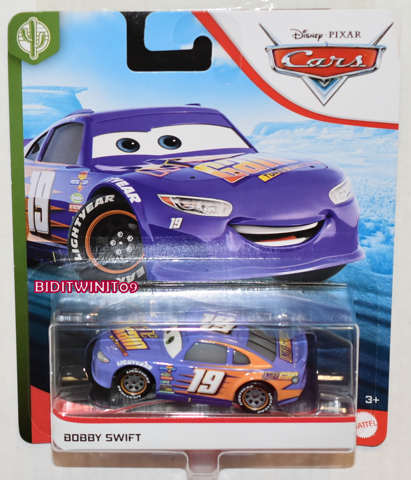 DISNEY PIXAR CARS 2020 BOBBY SWIFT CASE F E+