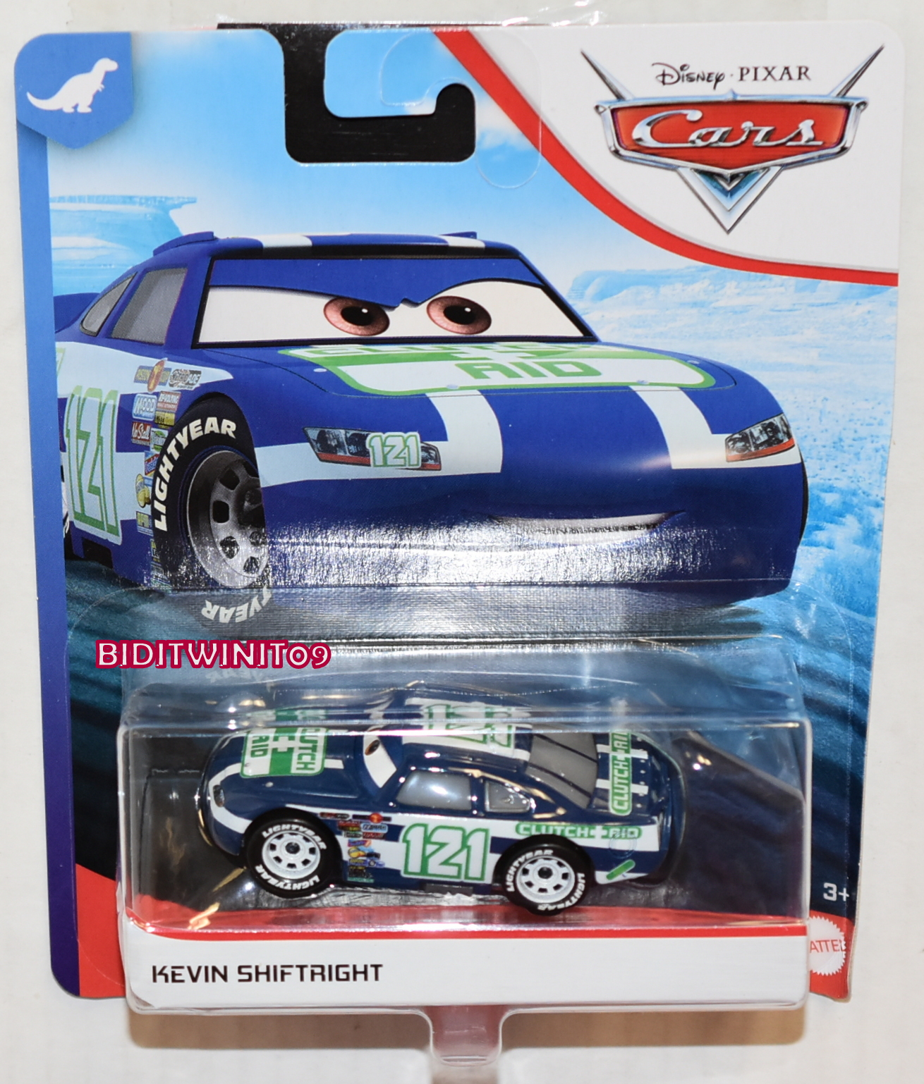 DISNEY PIXAR CARS 2020 KEVIN SHIFTRIGHT CASE F E+