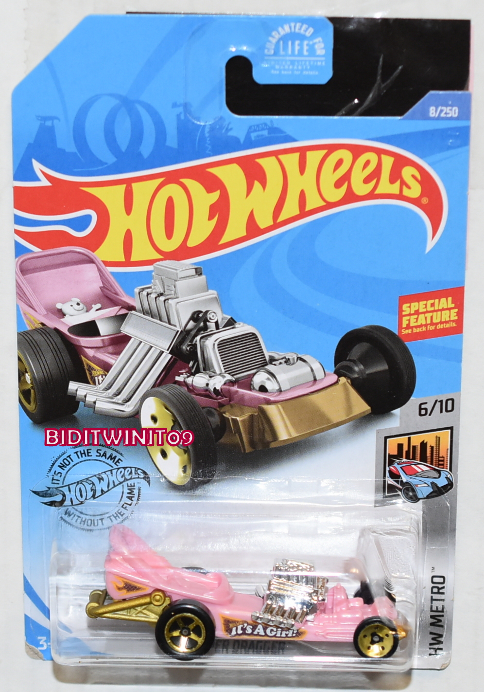 HOT WHEELS 2020 HW METRO DIAPER DRAGGER E+