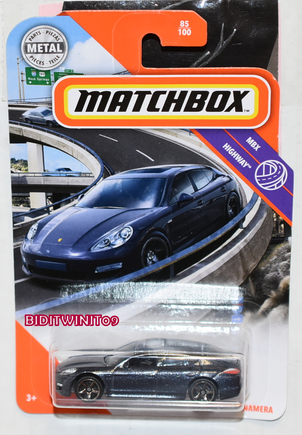 Matchbox 2020 2010 Porsche Panamera New Collectable Toy Model Car Short Card Contemporary Manufacture Toys Games