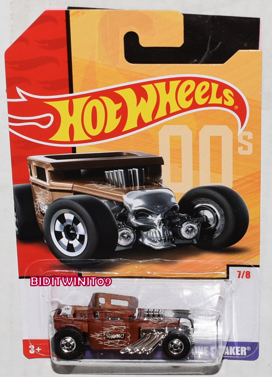 HOT WHEELS 2019 THROWBACK DECADES 50TH ANNIVERSARY BONE SHAKER