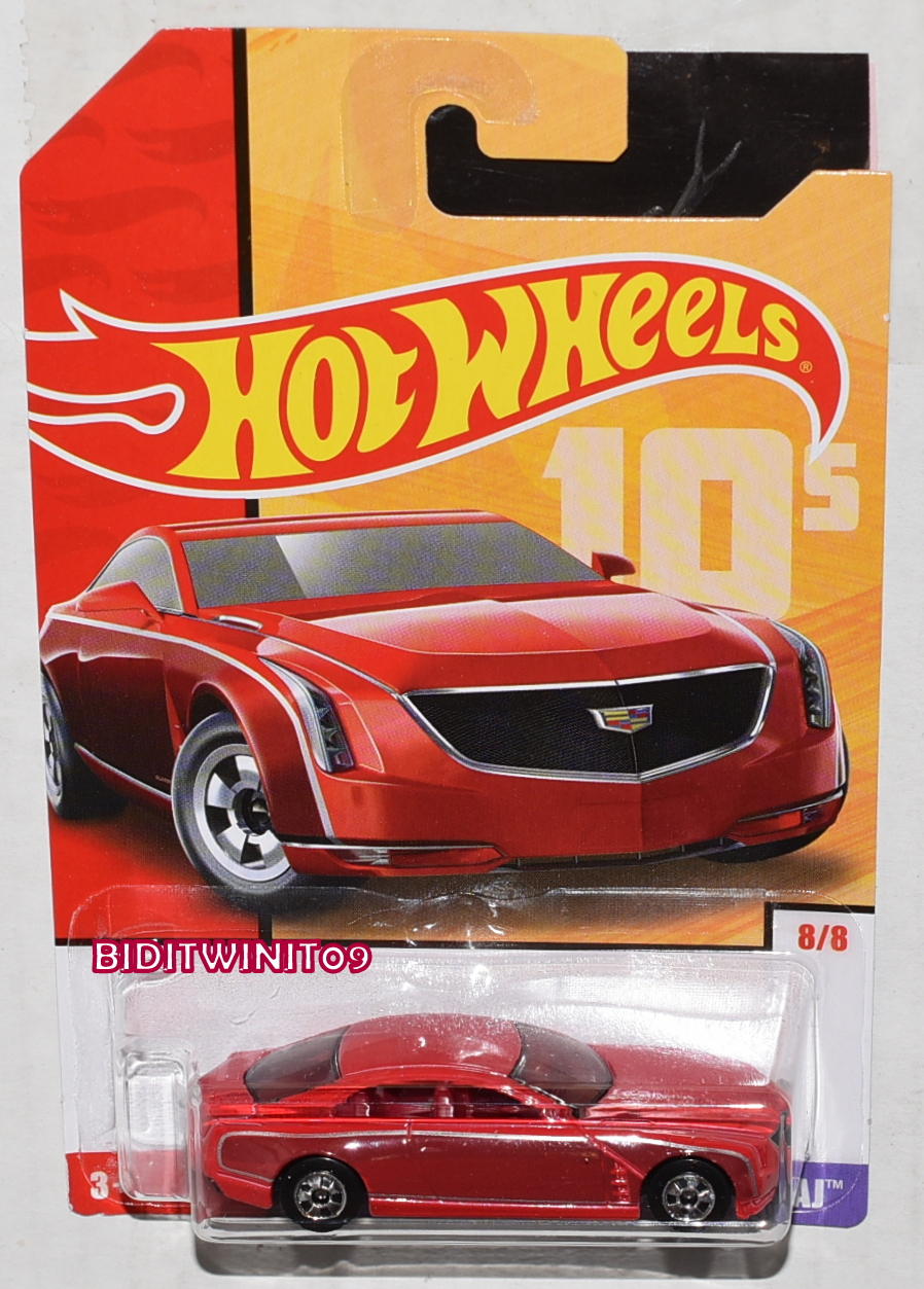 HOT WHEELS 2019 THROWBACK DECADES 50TH ANNIVERSARY CADILLAC ELMIRAJ