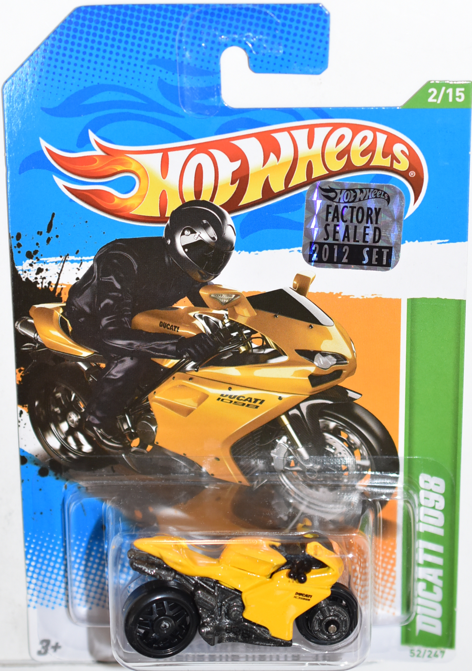 HOT WHEELS 2012 DUCATI 1098 REGULAR TREASURE HUNT FACTORY SEALED