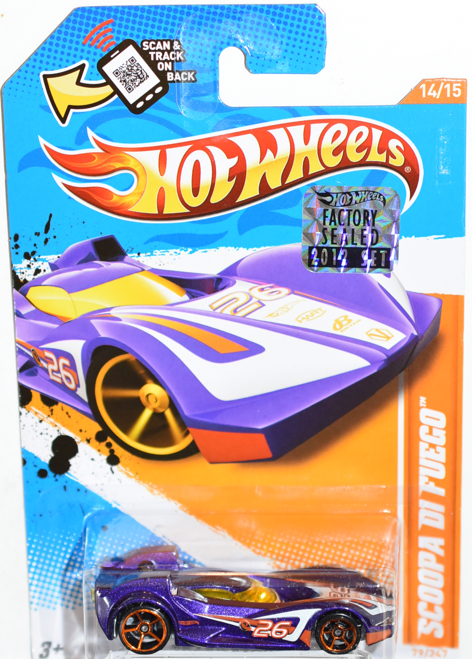 HOT WHEELS 2012 SCOOPA DI FUEGO FACTORY SEALED
