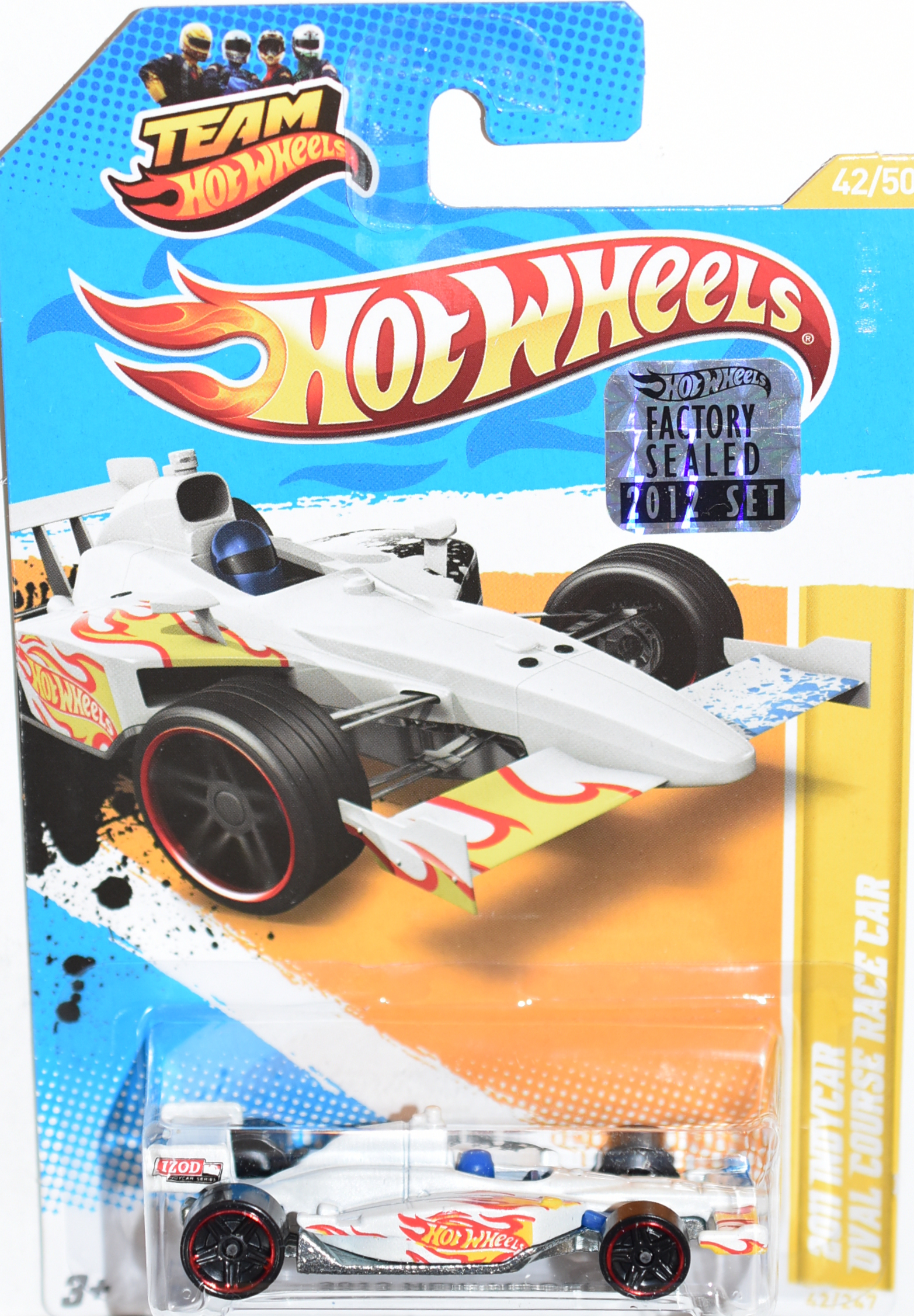 HOT WHEELS 2012 INDYCAR OVAL COURSE RACE CAR FACTORY SEALED