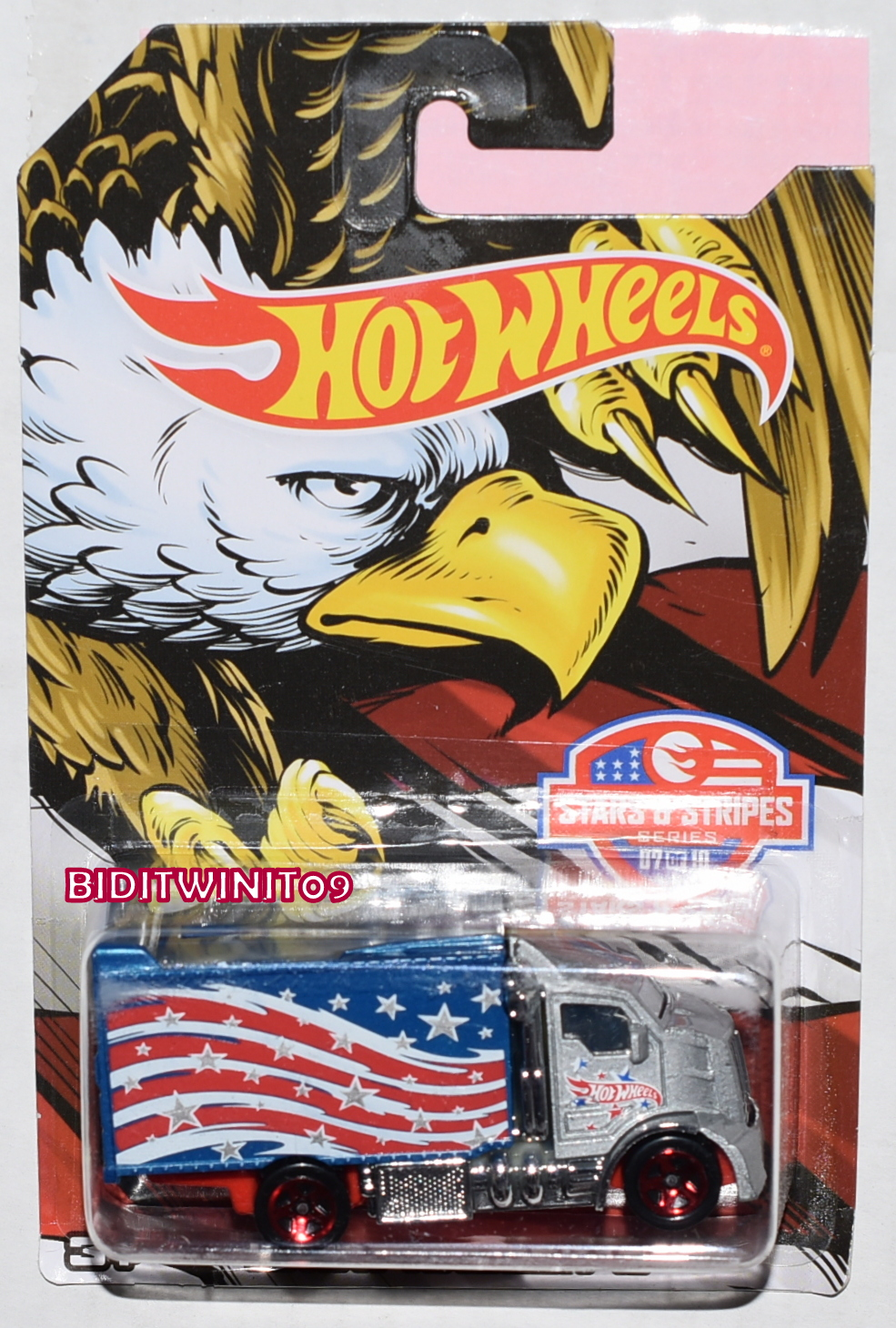 HOT WHEELS STAR & STRIPES 2016 HIWAY HAULER 2 #07/10