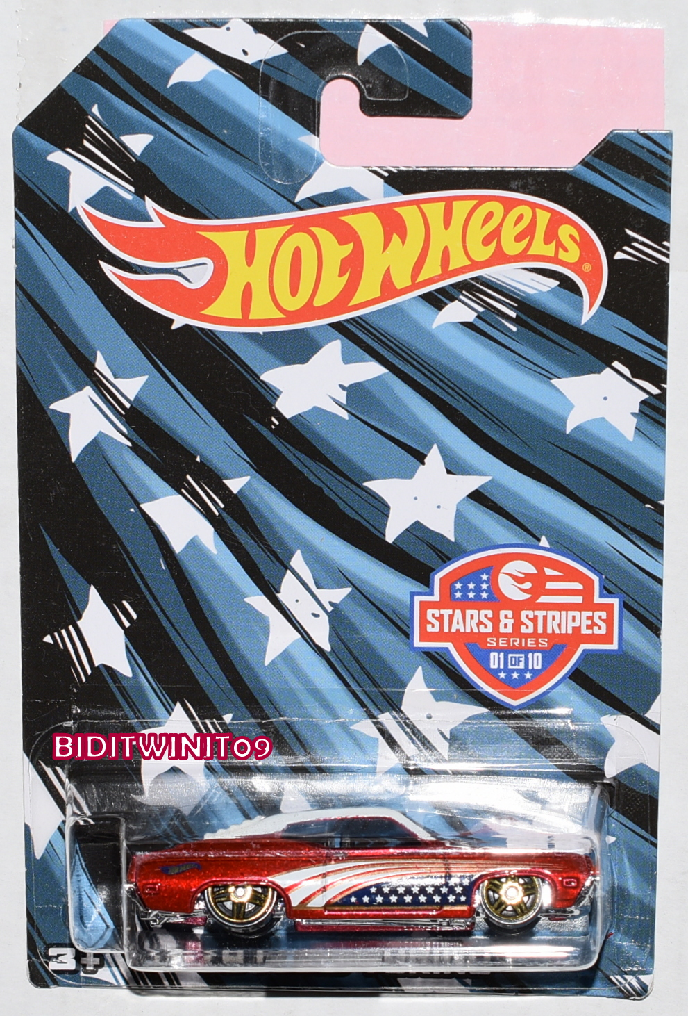 HOT WHEELS STAR & STRIPES 2016 '70 FORD TORINO #01/10