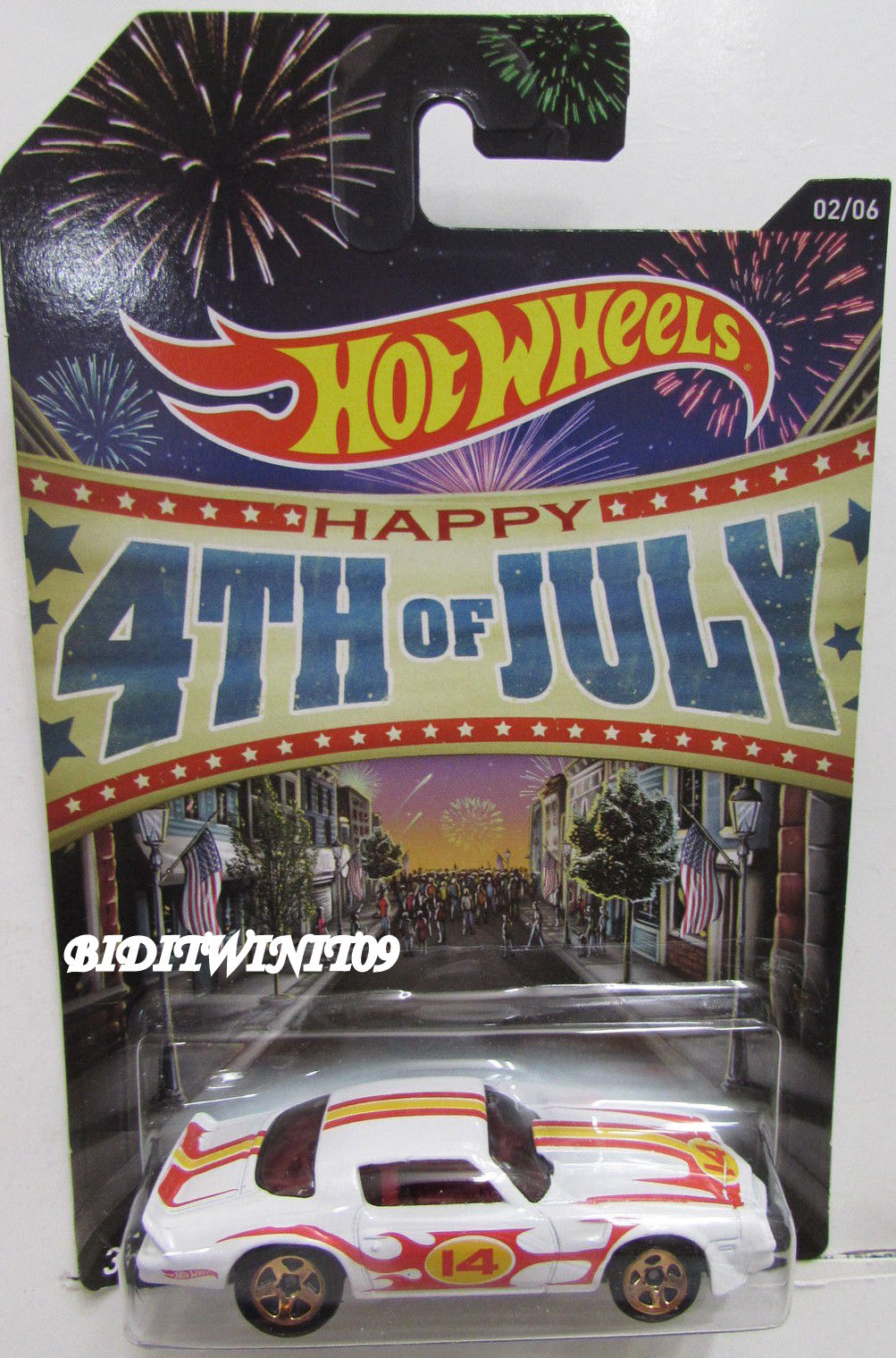 HOT WHEELS 4TH OF JULY 2014 KROGER EXCLUSIVE '81 CAMARO
