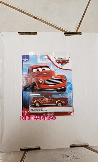 DISNEY PIXAR CARS 2019 HOT ROD SMOKEY E+