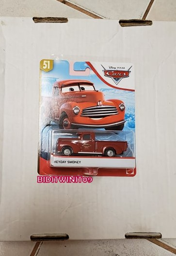 DISNEY PIXAR CARS 2019 HEYDAY SMOKEY #51 E+