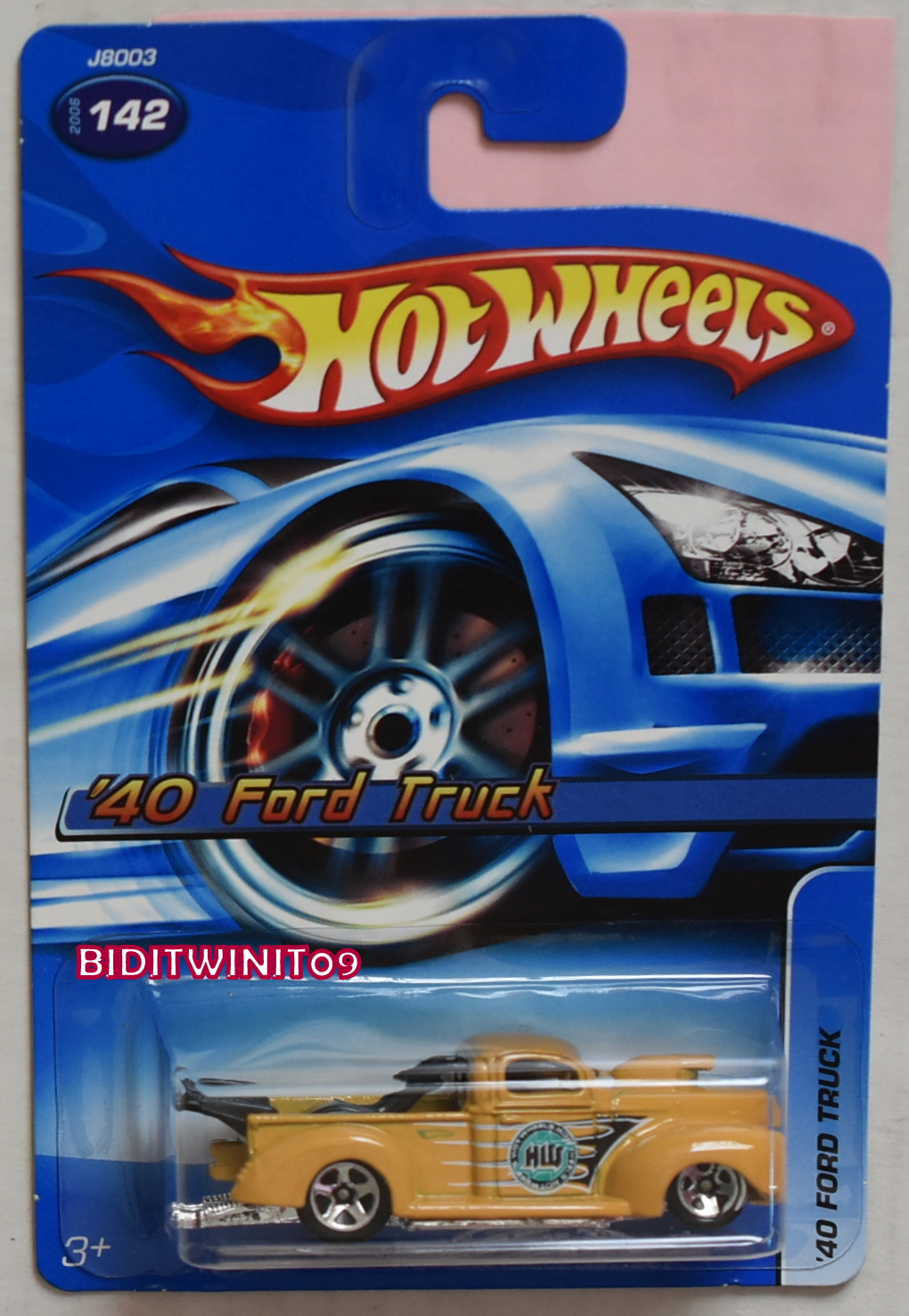 HOT WHEELS 2006 '40 FORD TRUCK TAN #142