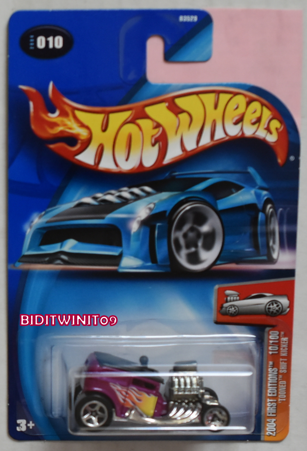 HOT WHEELS 2004 FIRST EDITIONS TOONED SHIFT KICKER NO WINDSHIELD E+