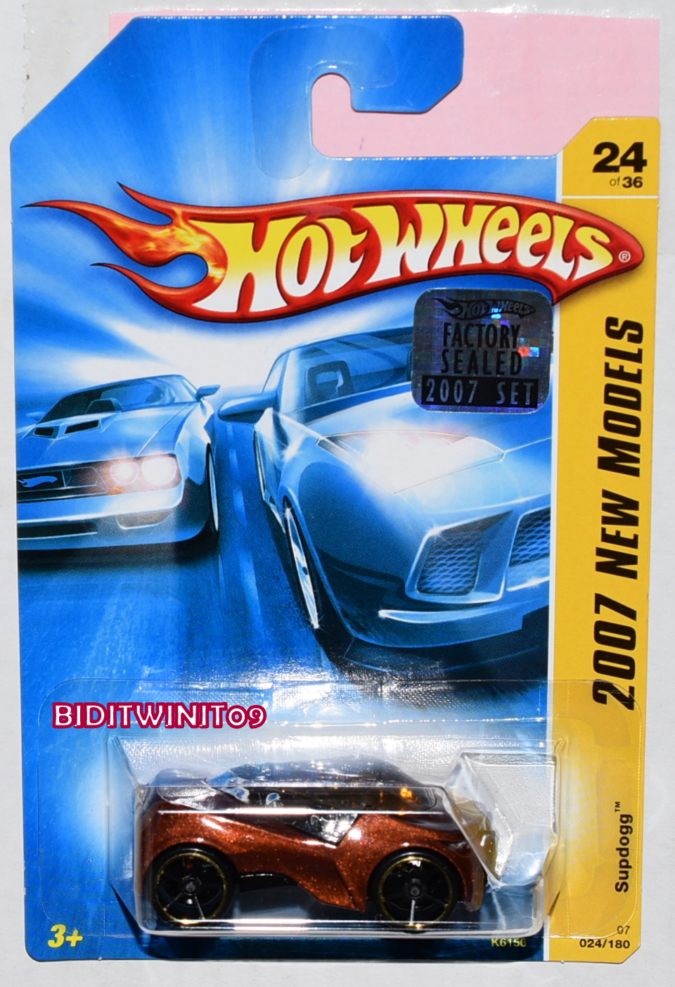 HOT WHEELS 2007 NEW MODELS SUPDOGG FACTORY SEALED - Click Image to Close