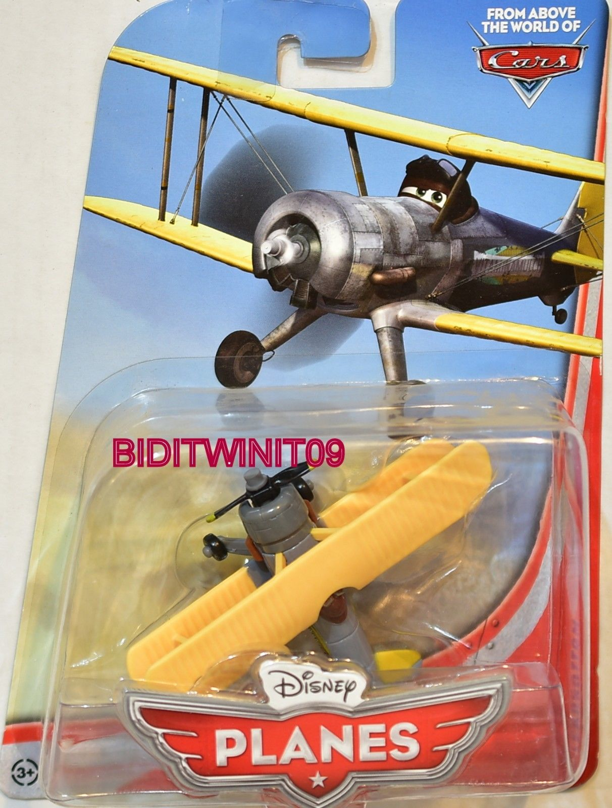 DISNEY PLANES FROM ABOVE THE WORLD OF CARS LEADBOTTOM