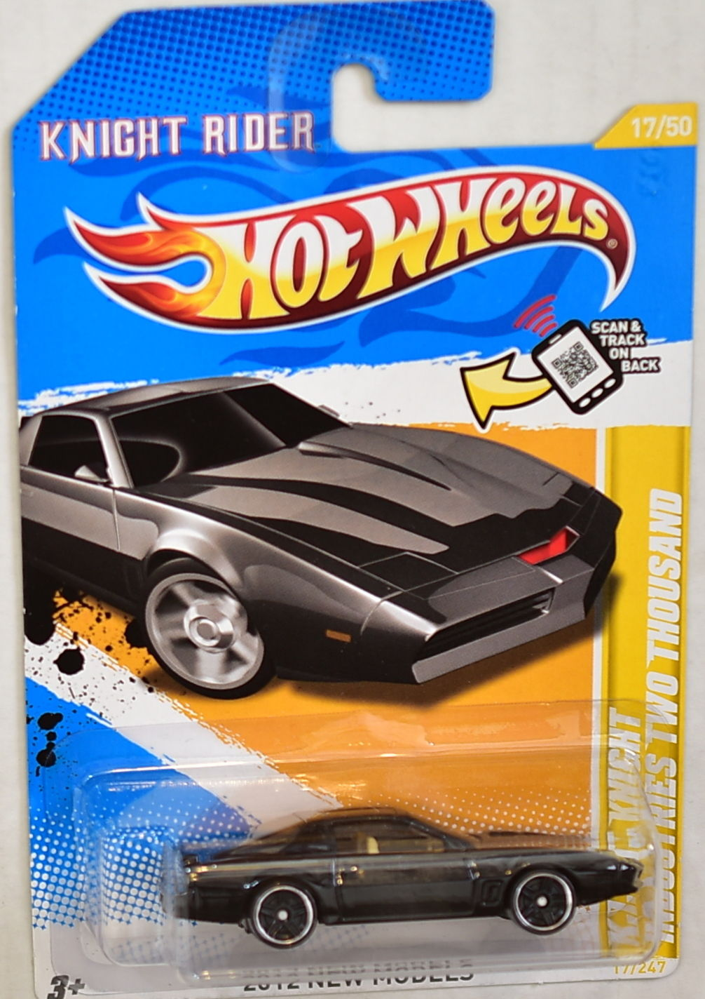 HOT WHEELS 2012 K.I.T.T. INDUSTRIES TWO THOUSAND KNIGHT RIDER