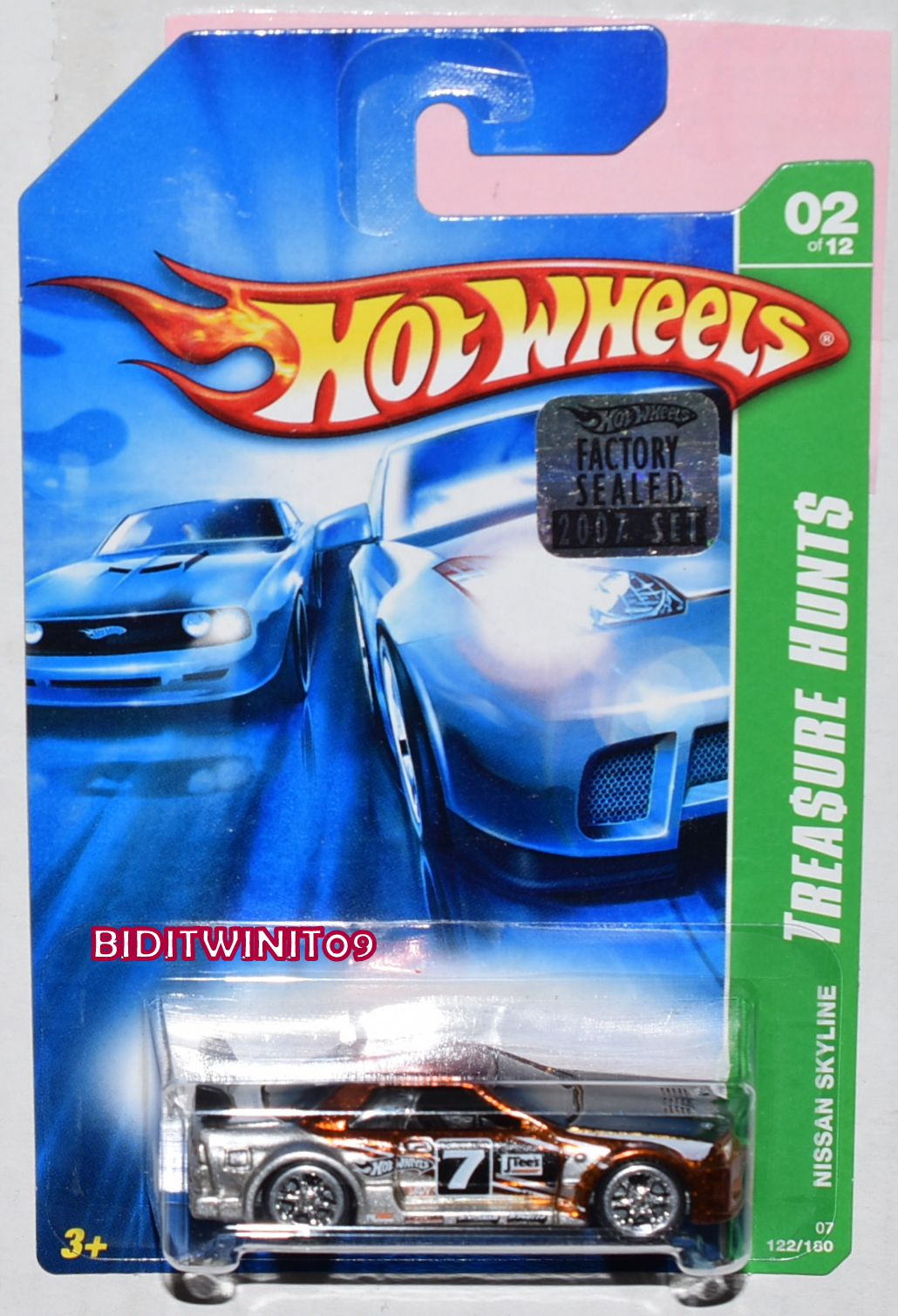 HOT WHEELS 1990 BLUE CARD MERCEDES 540K #134 W/ HW LOGO ON BASE