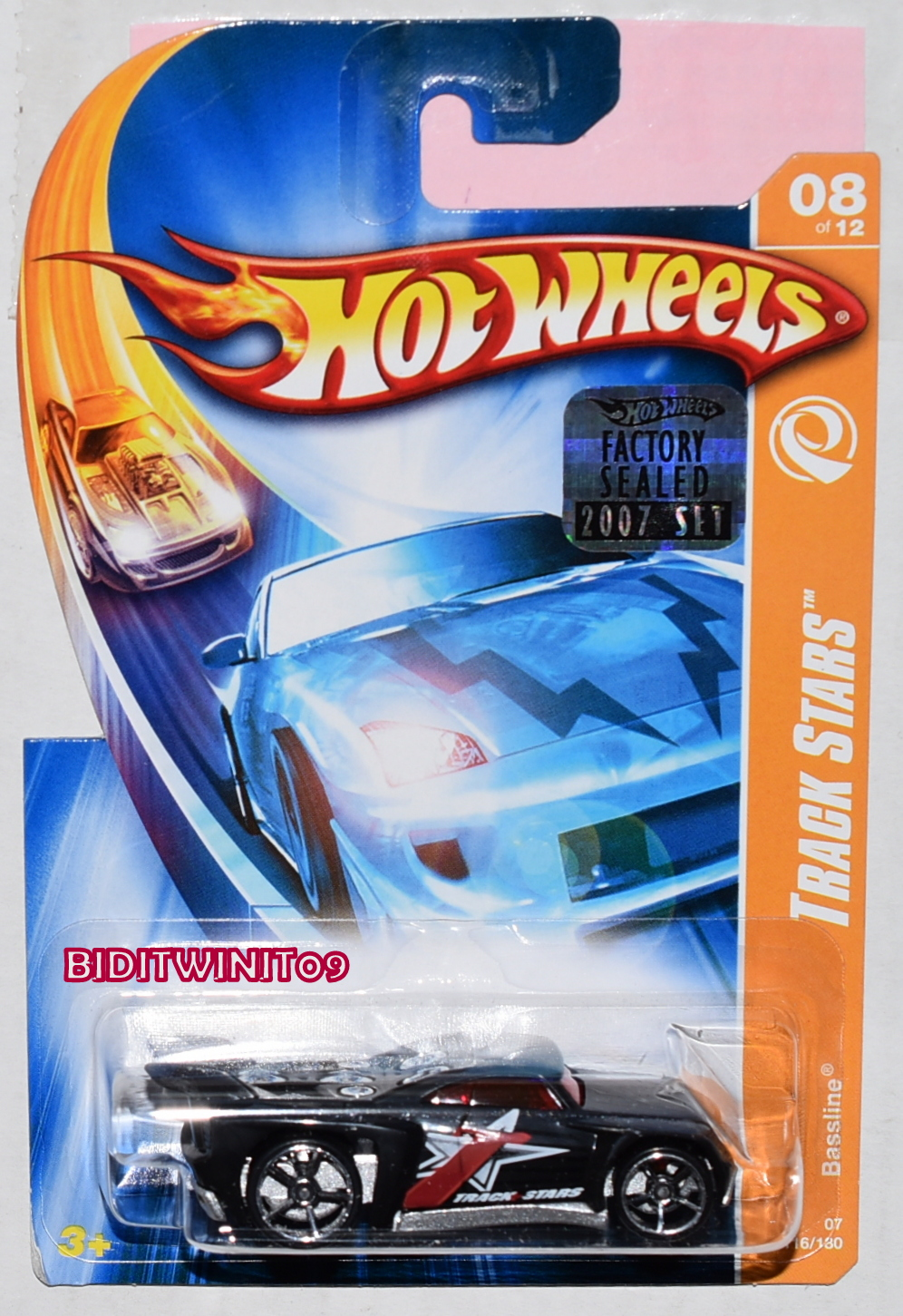 HOT WHEELS 1991 BLUE CARD LAMBORGHINI DIABLO #227 W/ UH WHEELS