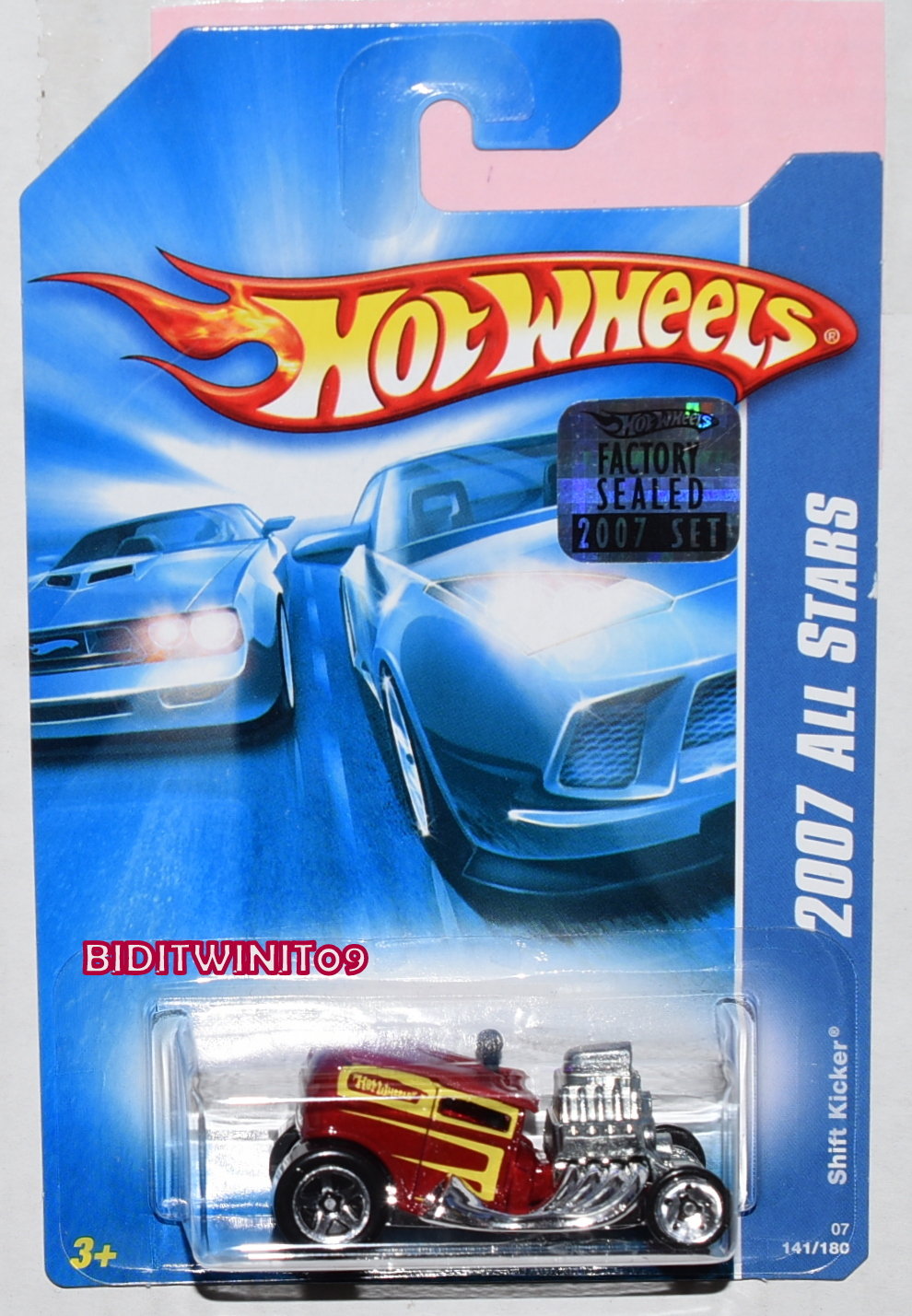 HOT WHEELS 2007 ALL STARS SHIFT KICKER RED FACTORY SEALED