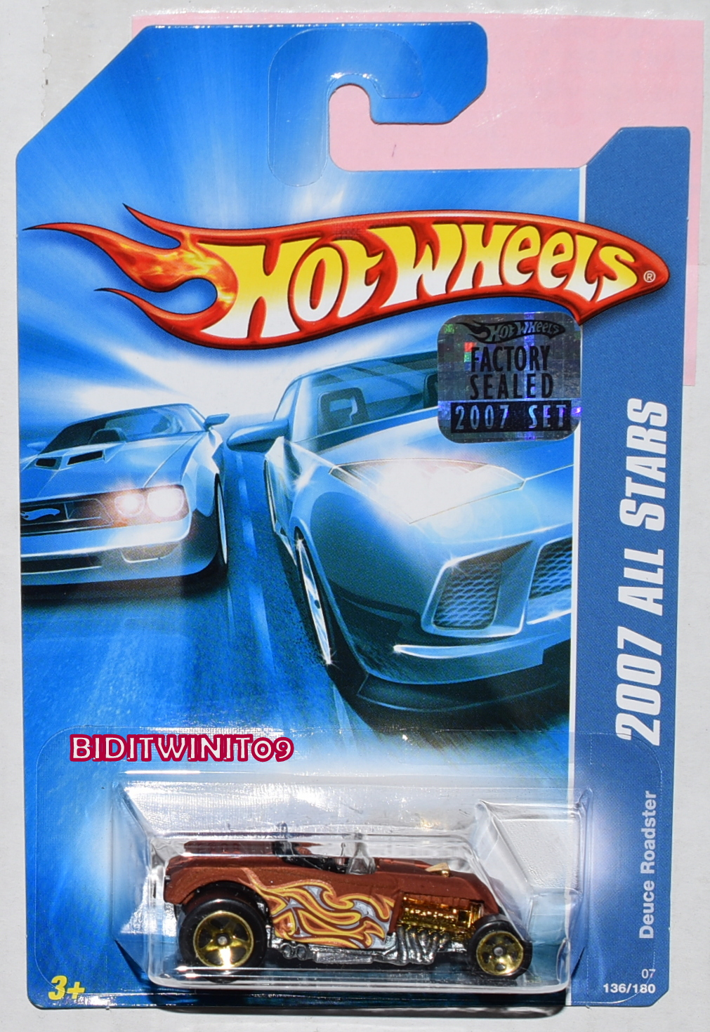 HOT WHEELS 2007 ALL STARS DEUCE ROADSTER FACTORY SEALED