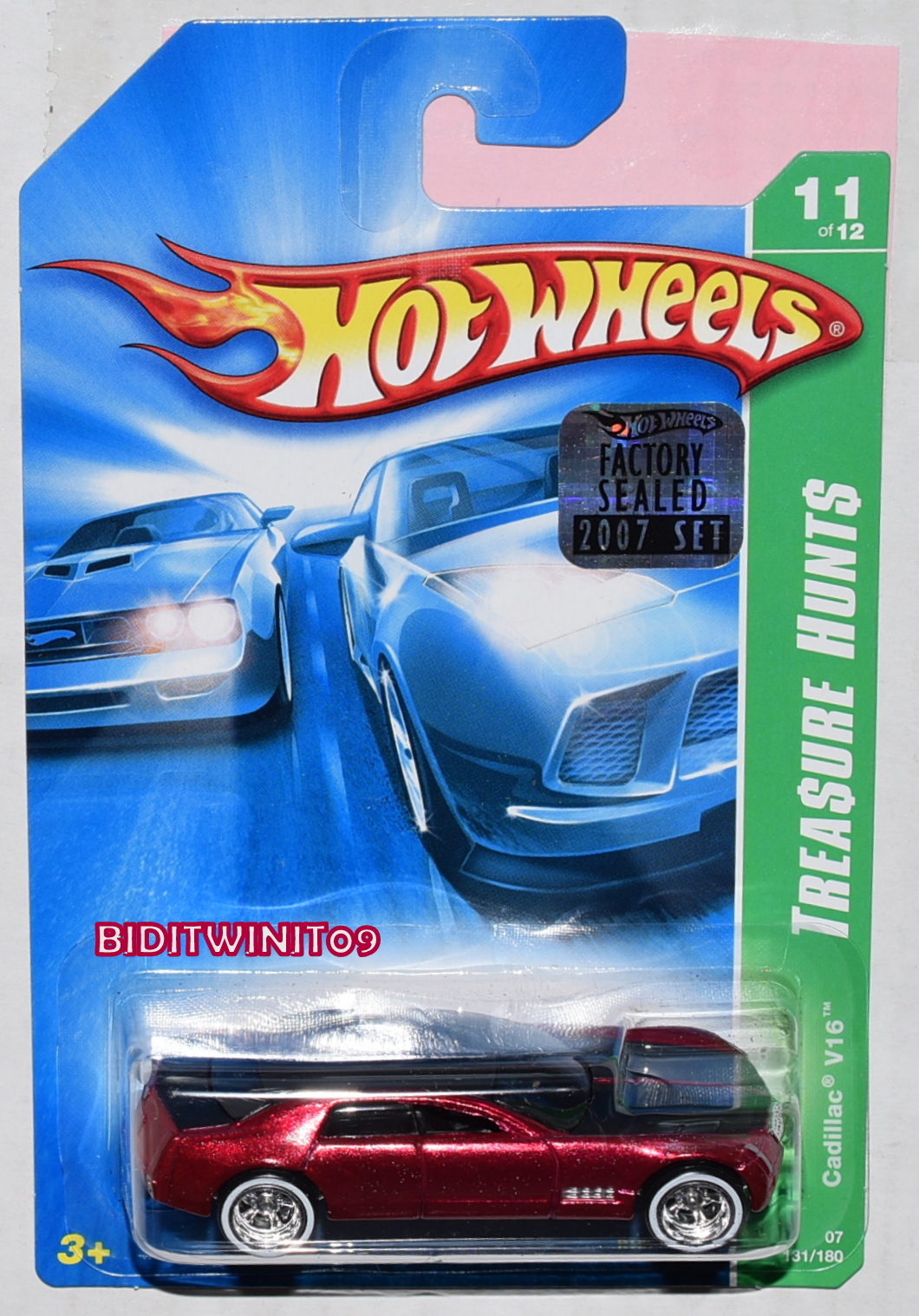 HOT WHEELS GARAGE '67 SHELBY GT500 #01/20 GREEN