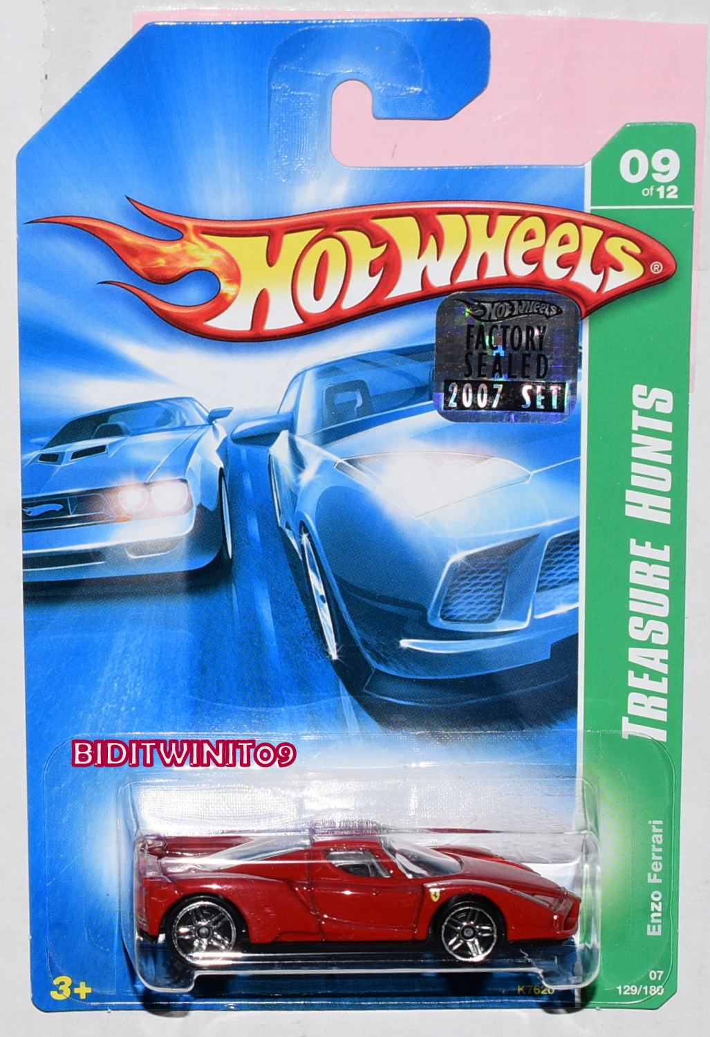 HOT WHEELS GARAGE '70 CHEVY MONTE CARLO #08/22
